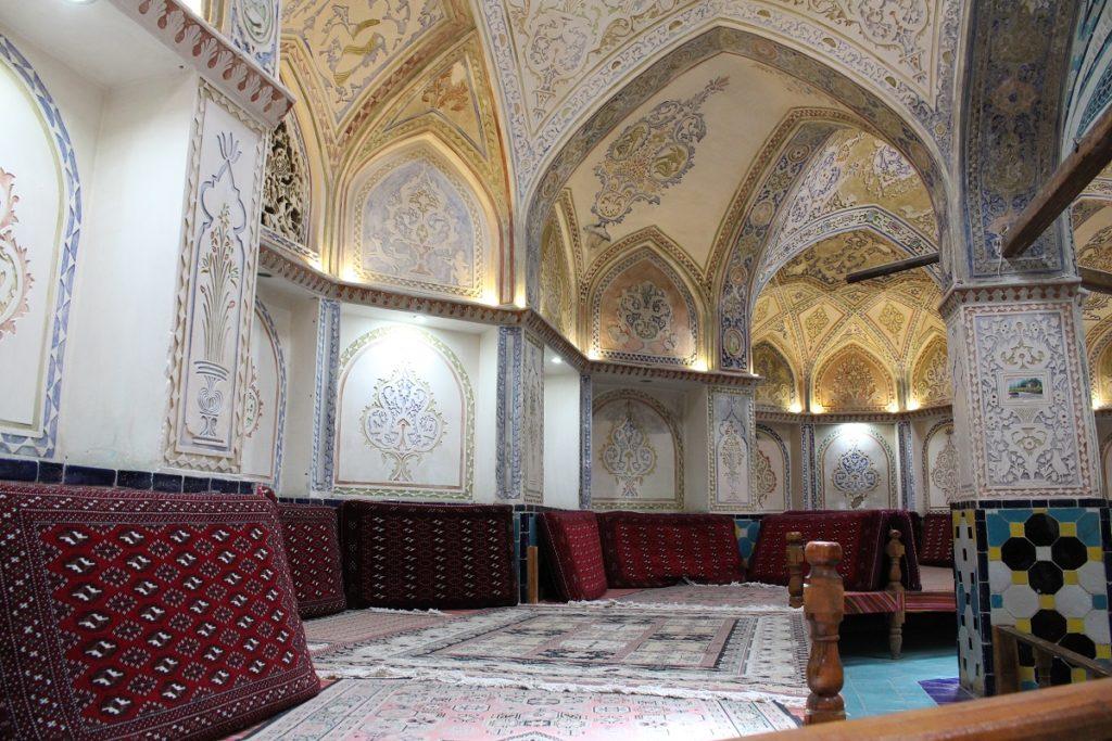 Bath, Kashan, Iran. Author and Copyright Marco Ramerini