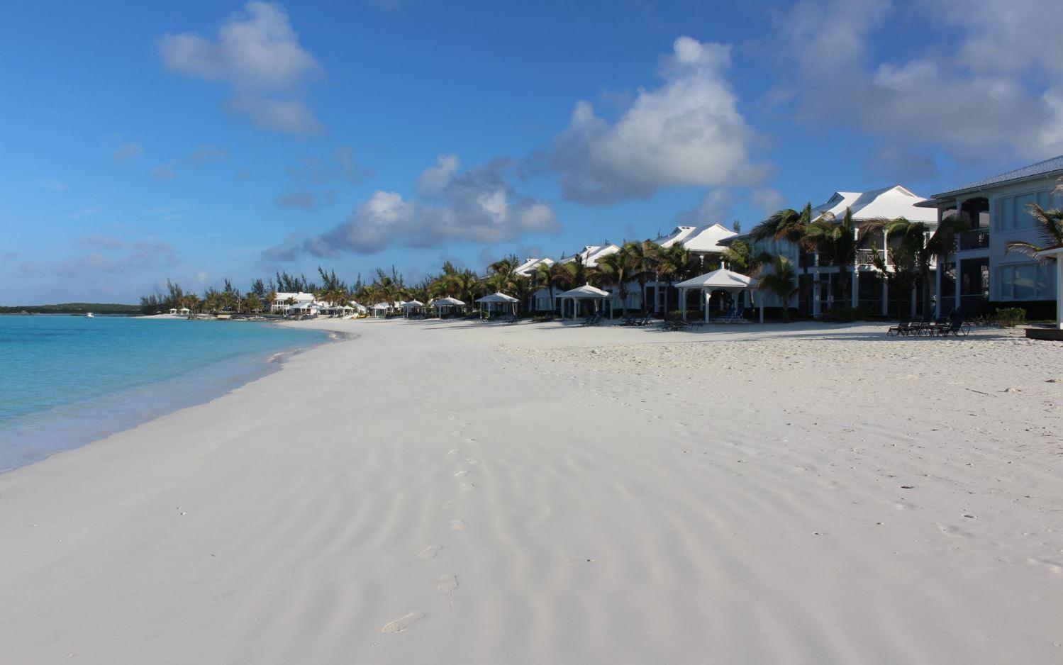 Cape Santa Maria Beach Resort, Long Island, Bahamas. Author and Copyright Marco Ramerini ..