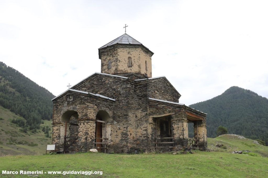 Church, Shenakho, Georgia. Author and Copyright Marco Ramerini