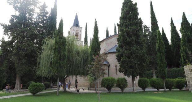 Bodbe-Klosters, Sighnaghi, Georgien. Autor und Copyright Marco Ramerini