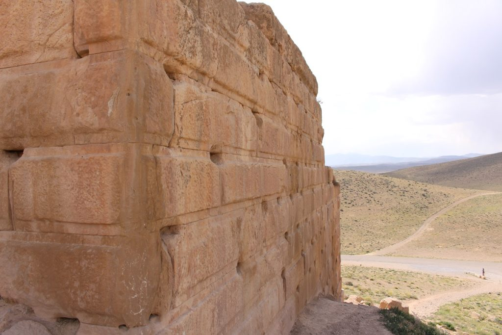Fortress of Tall-e Takht, Pasargadae, Iran. Author and Copyright Marco Ramerini