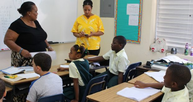 Glintons Primary School, Bahamas. Author and Copyright Marco Ramerini