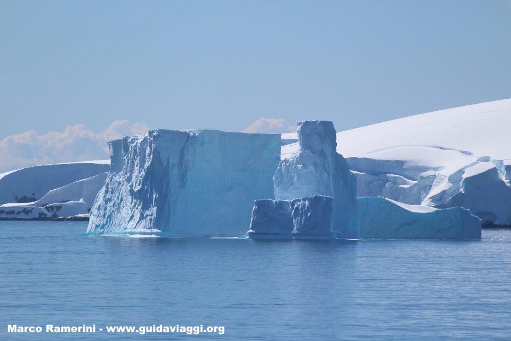 Iceberg, Palmer Archipelago, Antarctica. Author and Copyright Marco Ramerini