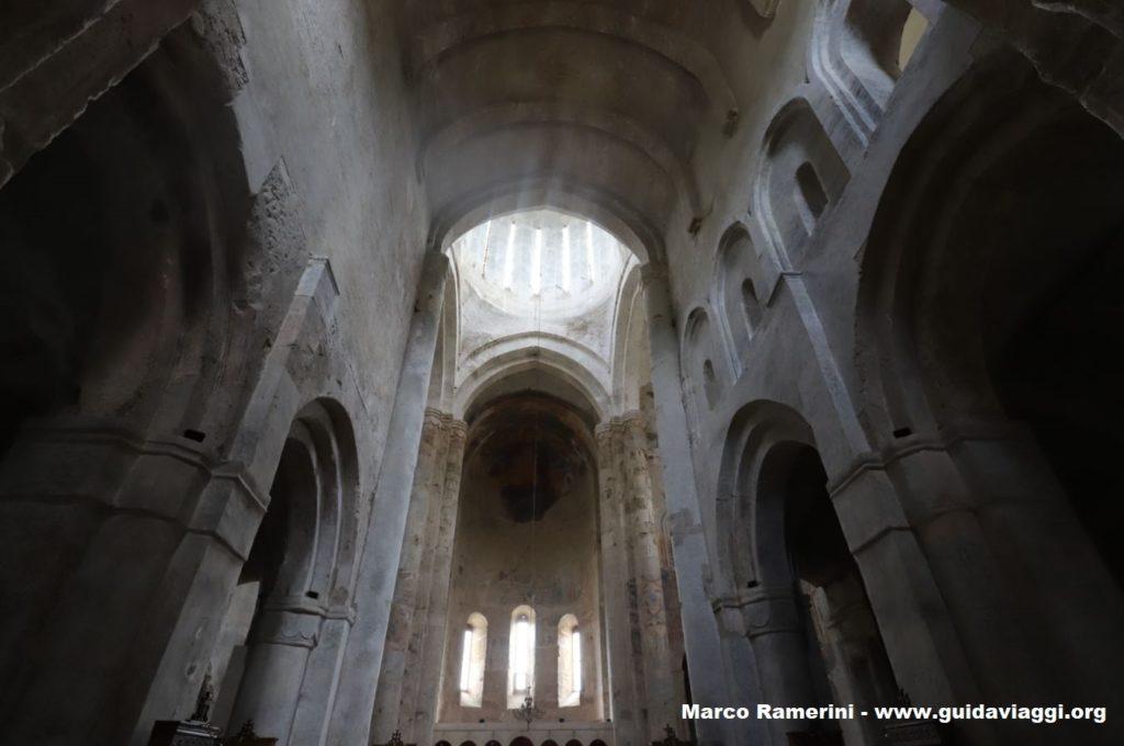 Interior, Alaverdi Cathedral, Georgia. Author and Copyright Marco Ramerini