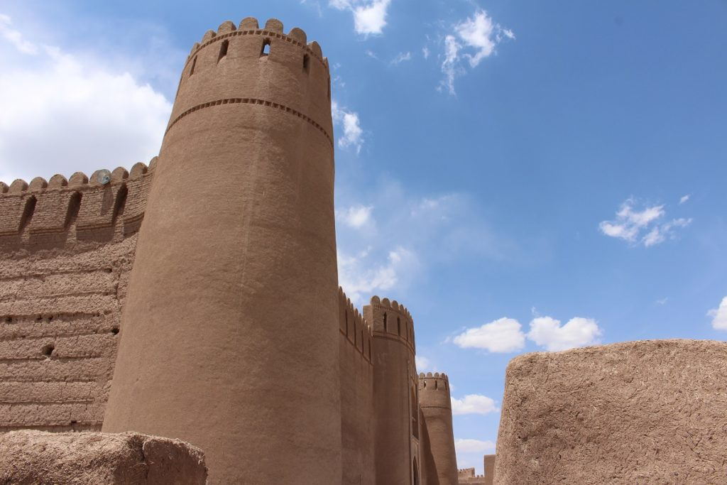 The citadel of Rayen, Iran. Author and Copyright Marco Ramerini,