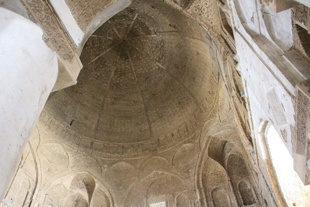 The Nezam al-Molk dome, Friday Mosque (Jāmeh Mosque), Isfahan, Iran. Author and Copyright Marco Ramerini