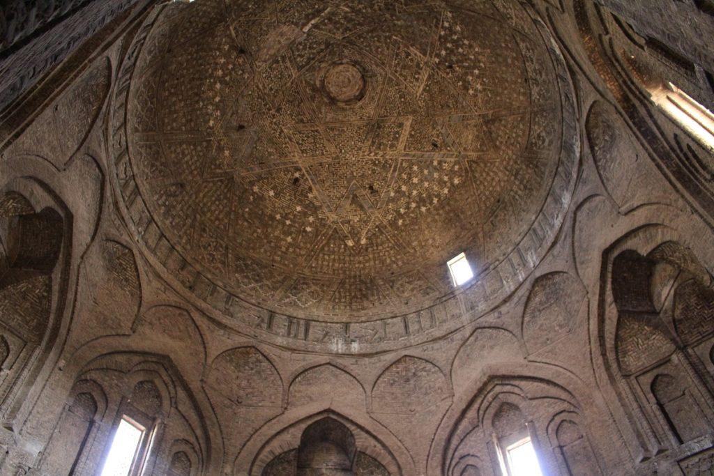 The dome Taj al-Molk, Friday Mosque, Esfahan, Iran. Author and Copyright Marco Ramerini