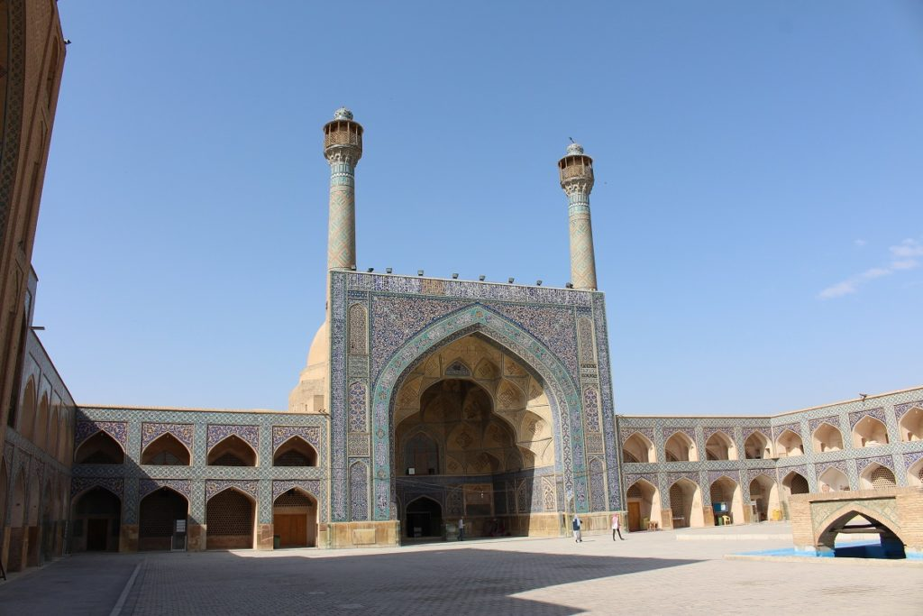 Friday Mosque (Jāmeh Mosque), Isfahan, Iran. Author and Copyright Marco Ramerini.