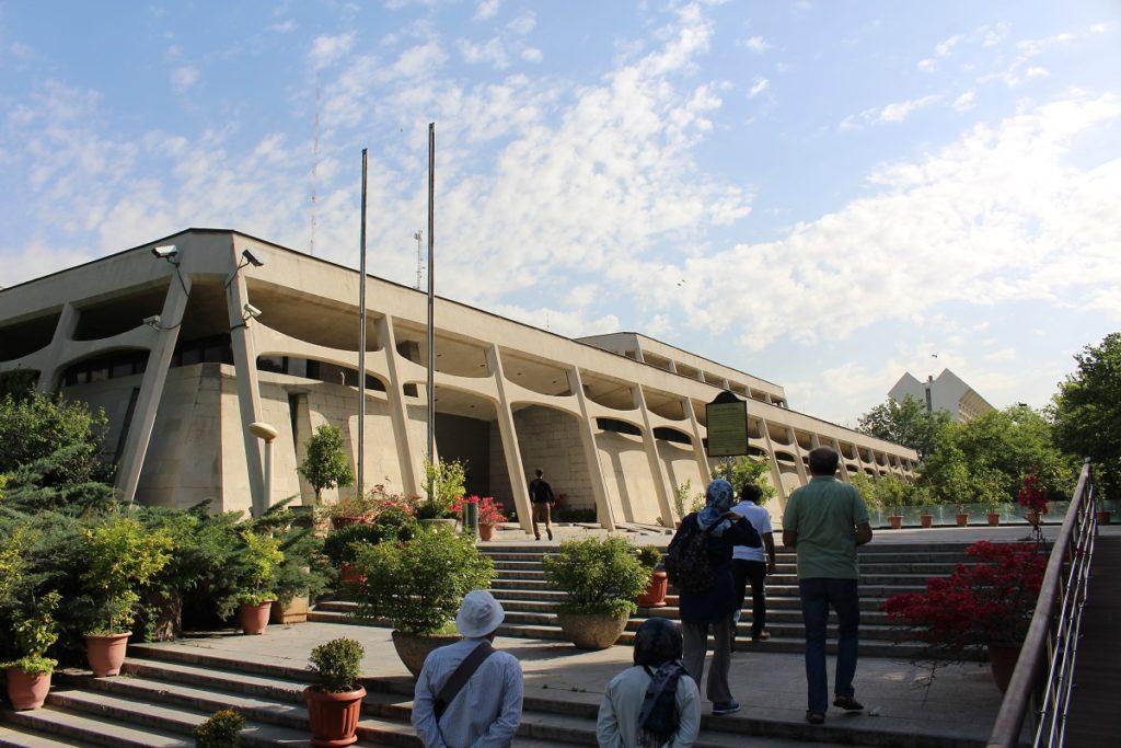 Carpet Museum of Iran, Tehran, Iran. Author and Copyright Marco Ramerini