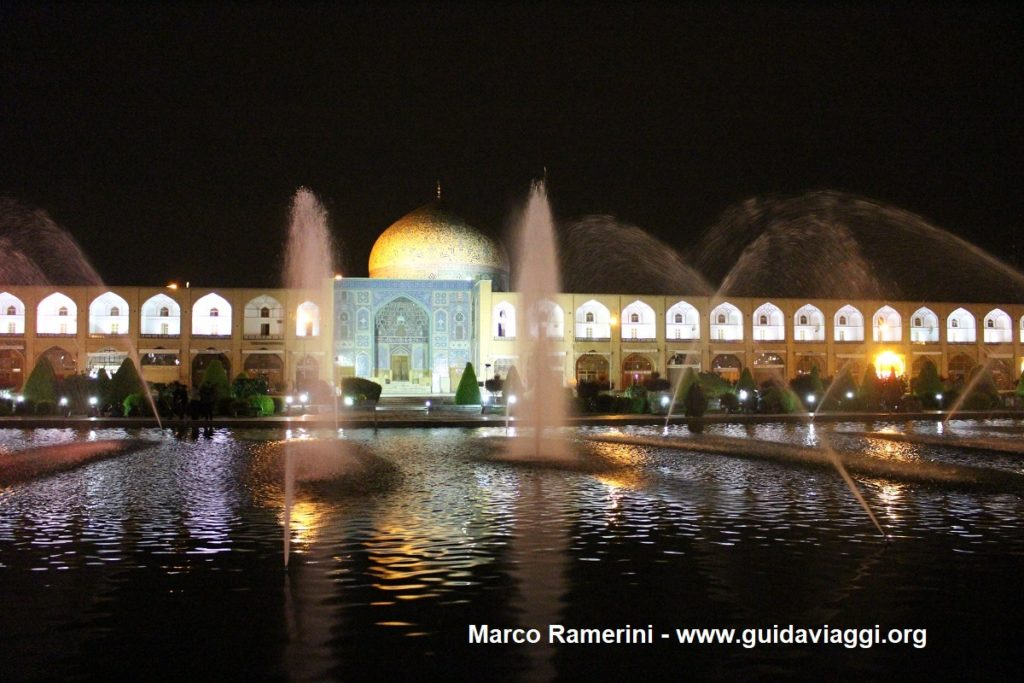 Naqsh-e jahān Platz, Isfahan, Iran. Autor und Copyright Marco Ramerini,