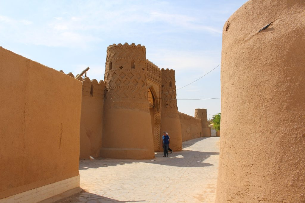 Gate of the walls, Meybod, Iran. Author and Copyright Marco Ramerini