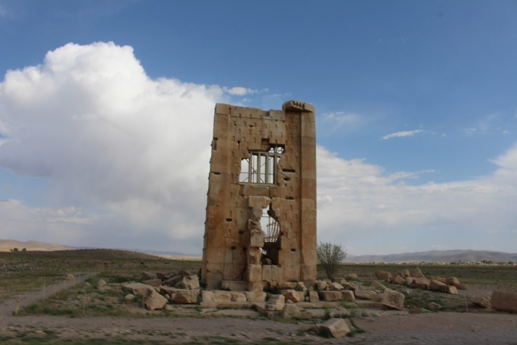 Prison of King Solomon, Pasargade, Iran. Author and Copyright Marco Ramerini