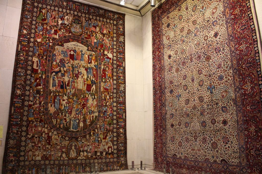 Persian rugs. Author and Copyright Marco Ramerini