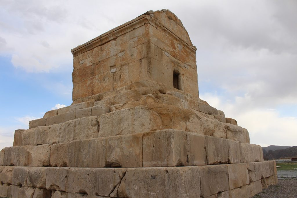 Tomb of Cyrus the Great, Pasargadae, Iran. Author and Copyright Marco Ramerini