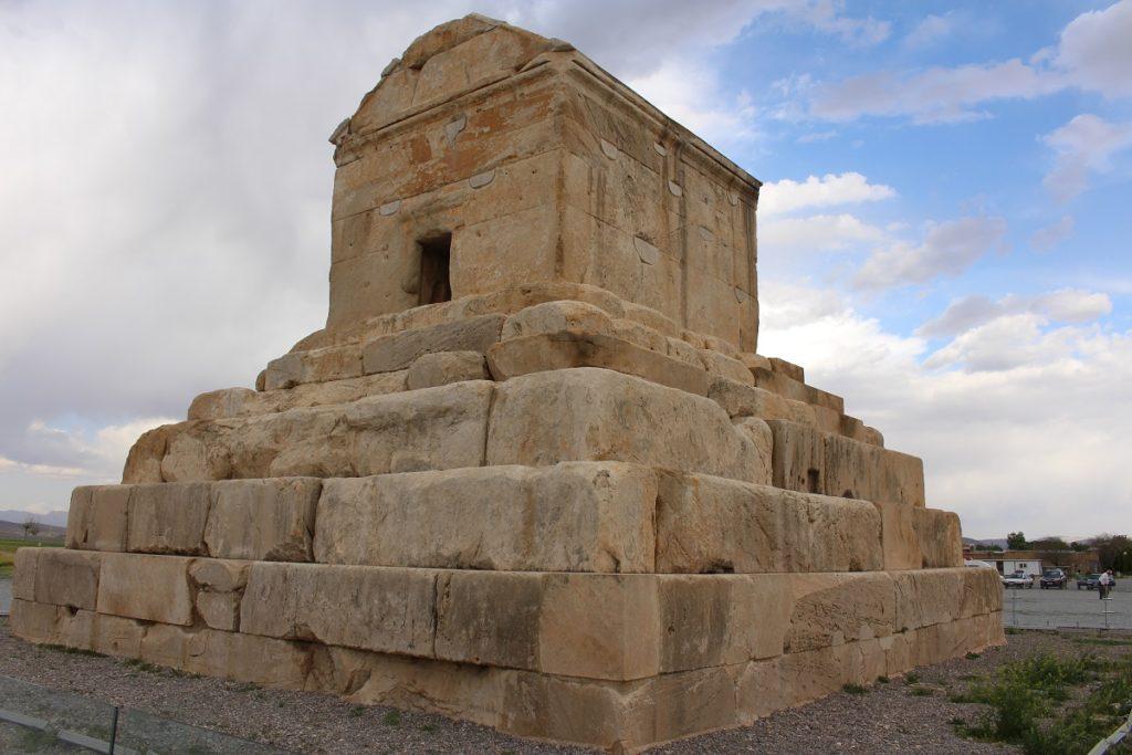 Grab von Cyrus dem Großen, Pasargade, Iran. Autor und Copyright Marco Ramerini,