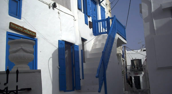 Mykonos, Cyclades, Greece. Author and Copyright Liliana Ramerini.