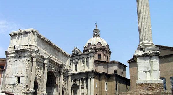 Roman Forum, Rome, Italy. Author and Copyright Marco Ramerini