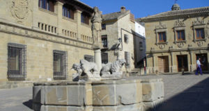 Fuente de los Leones, Baeza, Andalusia, Spain. Author and Copyright Liliana Ramerini