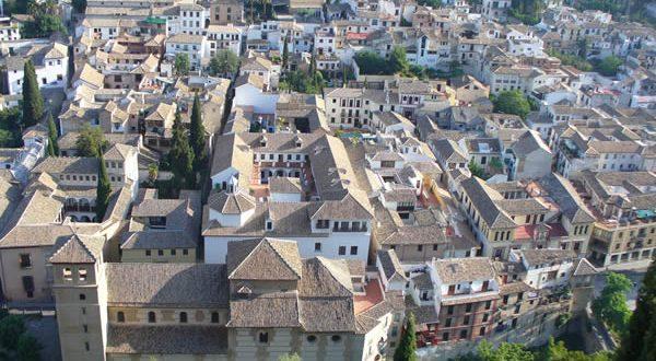 Granada, Andalusia, Spain. Author and Copyright Liliana Ramerini ..