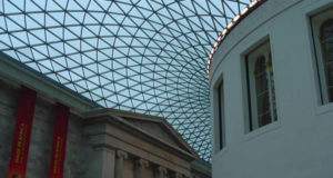 Great Court of the British Museum (1994-2000) designed by the English architect Norman Foster, British Museum, London. Author and Copyright Niccolò di Lalla