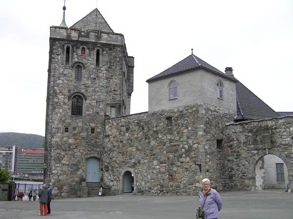 The Rosenkrantztarnet and the Portkastellet, Bergen Fortress (Bergenhus Festning), Norway. Author Copyright Marco Ramerini