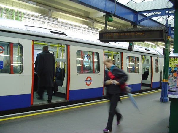 London Underground. Author and Copyright Niccolò di Lalla