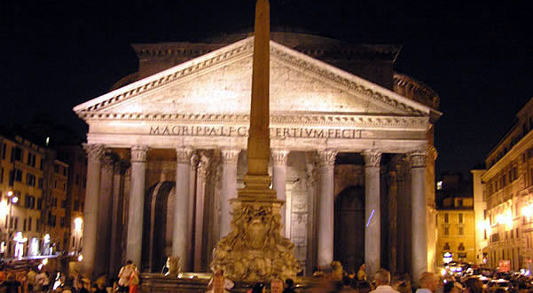 Pantheon, Rome, Italy. Author and Copyright Marco Ramerini