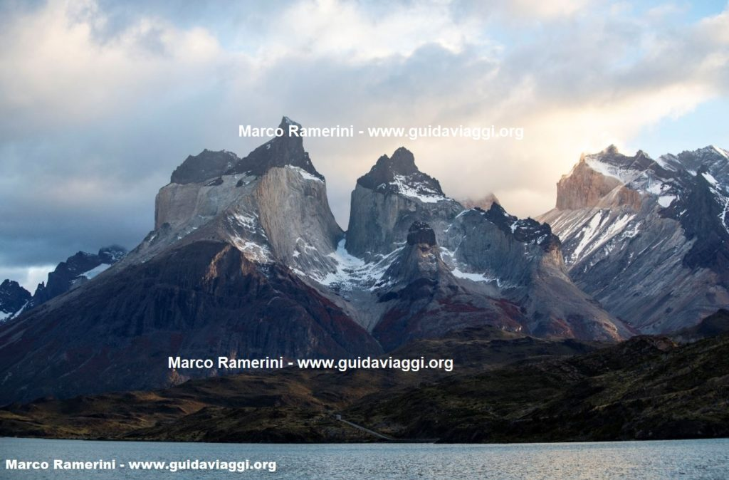 Cuernos del Paine, Torres del Paine National Park, Chile. Author and Copyright Marco Ramerini.