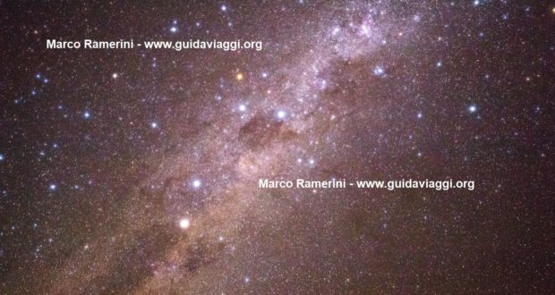 The Milky Way with the Southern Cross and Eta Carinae. Atacama desert, Chile. Author and Copyright Marco Ramerini