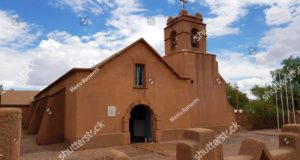 The church of San Pedro de Atacama, Chile. Author and Copyrigth Marco Ramerini