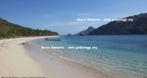 The beach, Kuata, Yasawa Islands, Fiji. Author and Copyright Marco Ramerini.