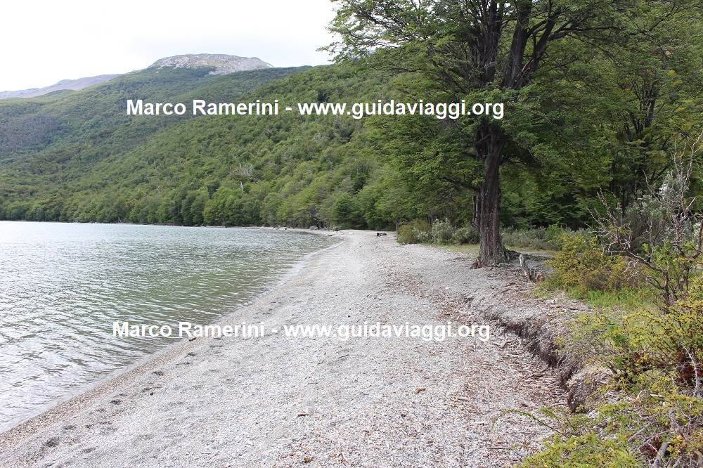 Roca Lake, Tierra del Fuego National Park, Argentina. Author and Copyright Marco Ramerini