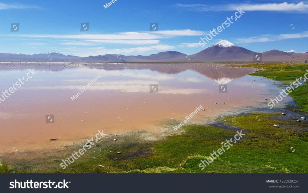 Laguna Colorada, Bolivia. Author and Copyright Marco Ramerini