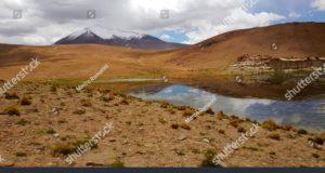 Laguna Turquiri, Bolivia. Author and Copyright Marco Ramerini.