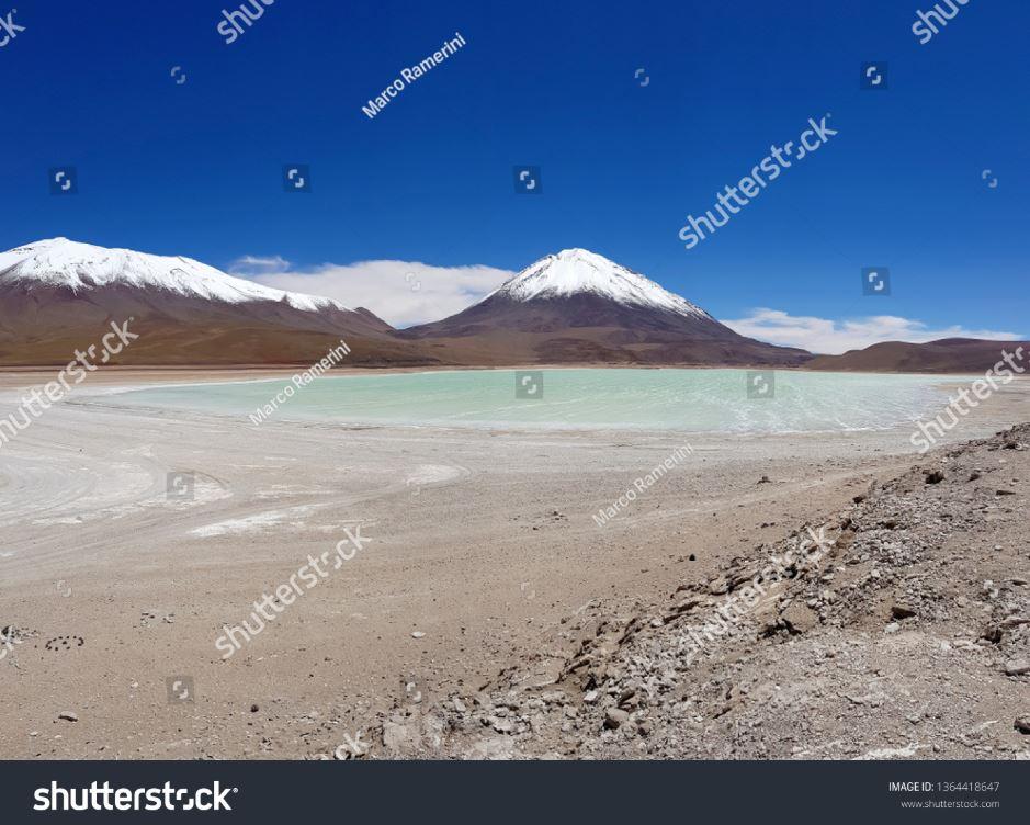 Laguna Verde, Bolivia. Author and Copyright Marco Ramerini