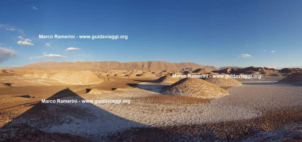 The spectacular landscape around the village of Tolar Grande, Argentina. Author and Copyright Marco Ramerini
