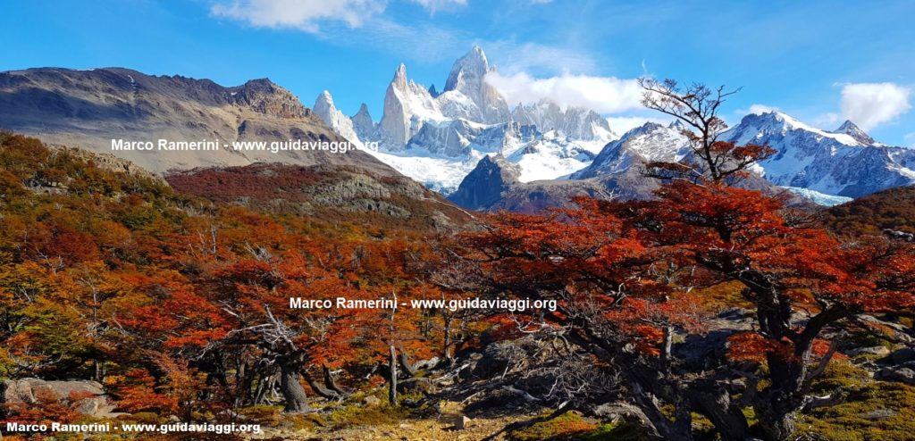 Monte Fitz Roy, Los Glaciares National Park, Argentina. Author and Copyright Marco Ramerini.,.