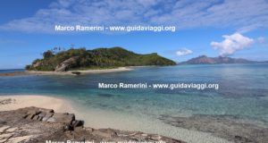 Narara seen from Naukacuvu, Yasawa Islands, Fiji. Author and Copyright Marco Ramerini