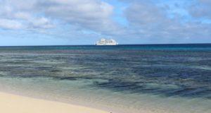 Reef Endevour, Captain Cook Cruises, Fiji. Author and Copyright Marco Ramerini