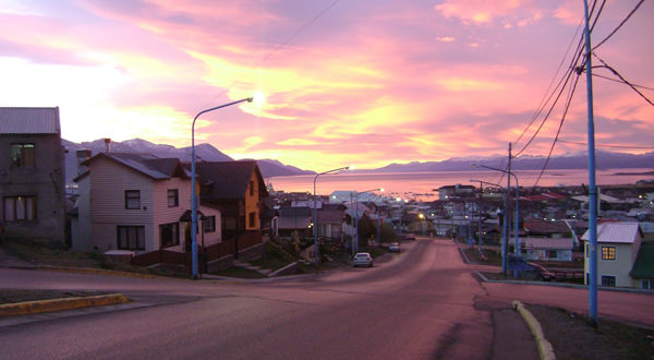 Ushuaia, Tierra del Fuego, Argentina. Author and Copyright Guillermo Puliani,,