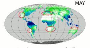Wohin im Mai? Welche Länder haben in diesem Monat das beste Klima? Autor MeanMonthl.yP