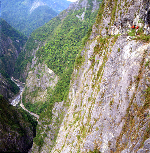 Jhueilu Trail, Hualien, Taiwan. Photo courtesy Taiwan Tourism Bureau