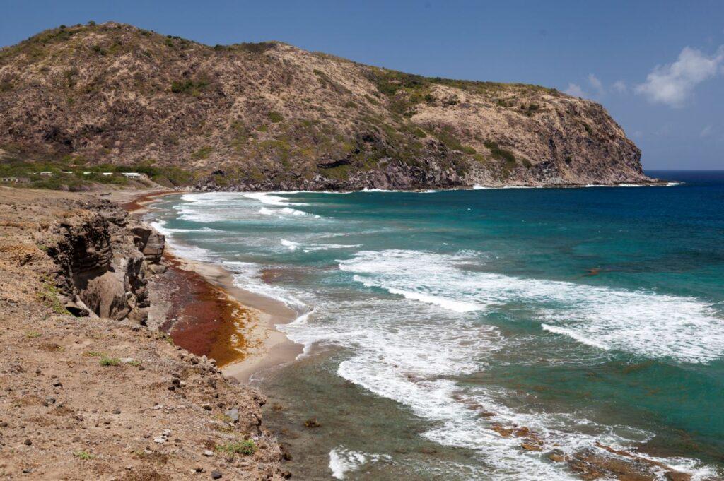 Zeelandia beach, Sint Eustatius. Credit Cees Timmers