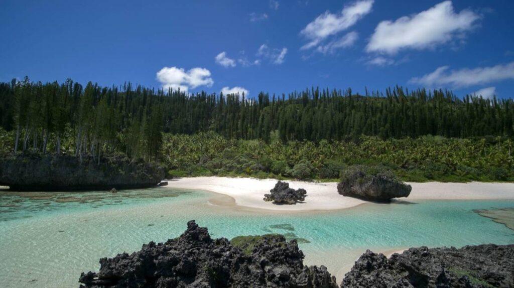 The Terraces of Shabadran in the island of Maré, New Caledonia. © Pauline Massé NCTPS.