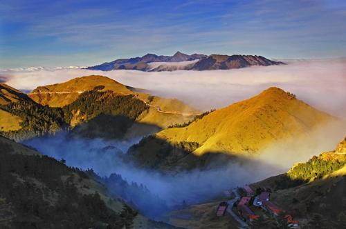 The mountains of Taiwan. Photo courtesy Taiwan Tourism Bureau