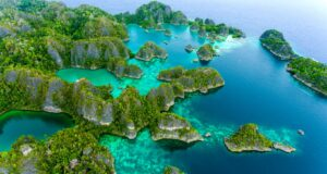 Raja Ampat, Indonesia. Credit Ministry of Tourism, Republic of Indonesia by KIAT