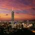 Taipei in der Nacht, Taiwan. Photo courtesy Taiwan Tourism Bureau