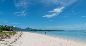 A beach in Mauritius. Credit Mauritius Tourism