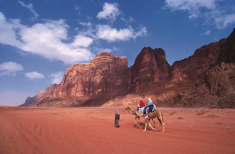 Wadi Rum, Jordan. Credit Jordan Tourism Board