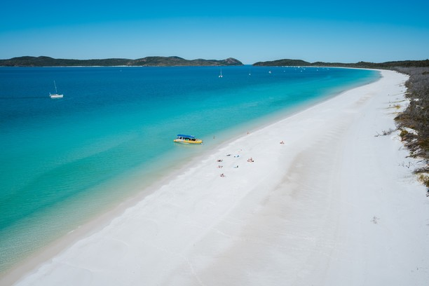 Whitehaven Beach, Queensland, Australia. Credit Tourism Australia